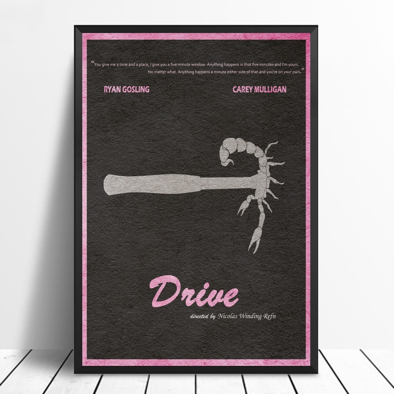 Minimalist And Alternative Movie Poster Canvas Painting