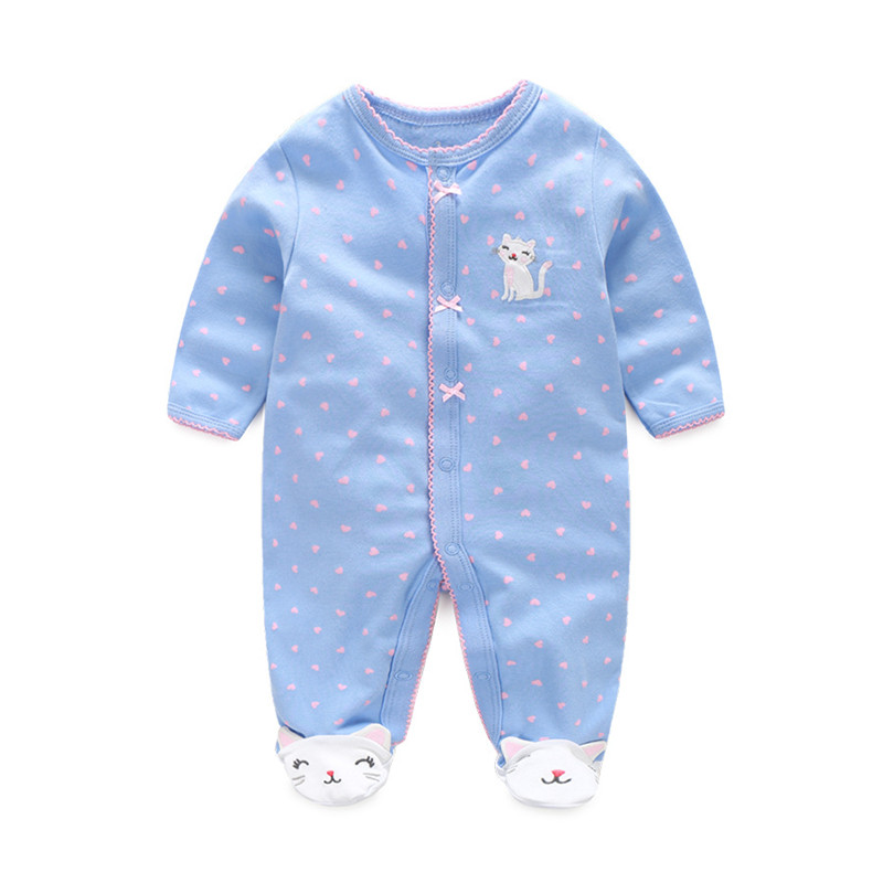 Cotton Baby   Rompers   Spring Baby Girl Clothes Autumn Baby Boy Clothes Warm Newborn Baby Clothes Roupas Bebe Infant Jumpsuits