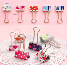 20 Pcs Metal Assorted Color File Paper Binder Clips Kitchen Household Tools Hot Sale(China)