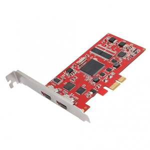 Riser-Card Audio-Capture-Recorder Video PCI-E HDMI 1080P in One One-Out Tv-Box Dual-Port