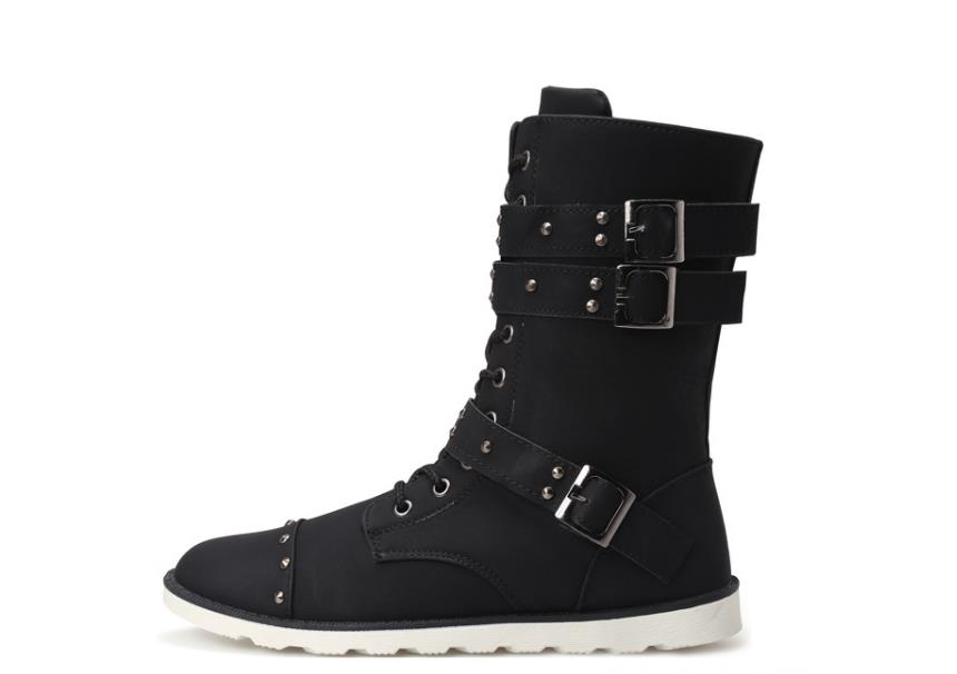 Mens snow boots, non-slip wear, warm and comfortable, excellent workmanship, men like ...