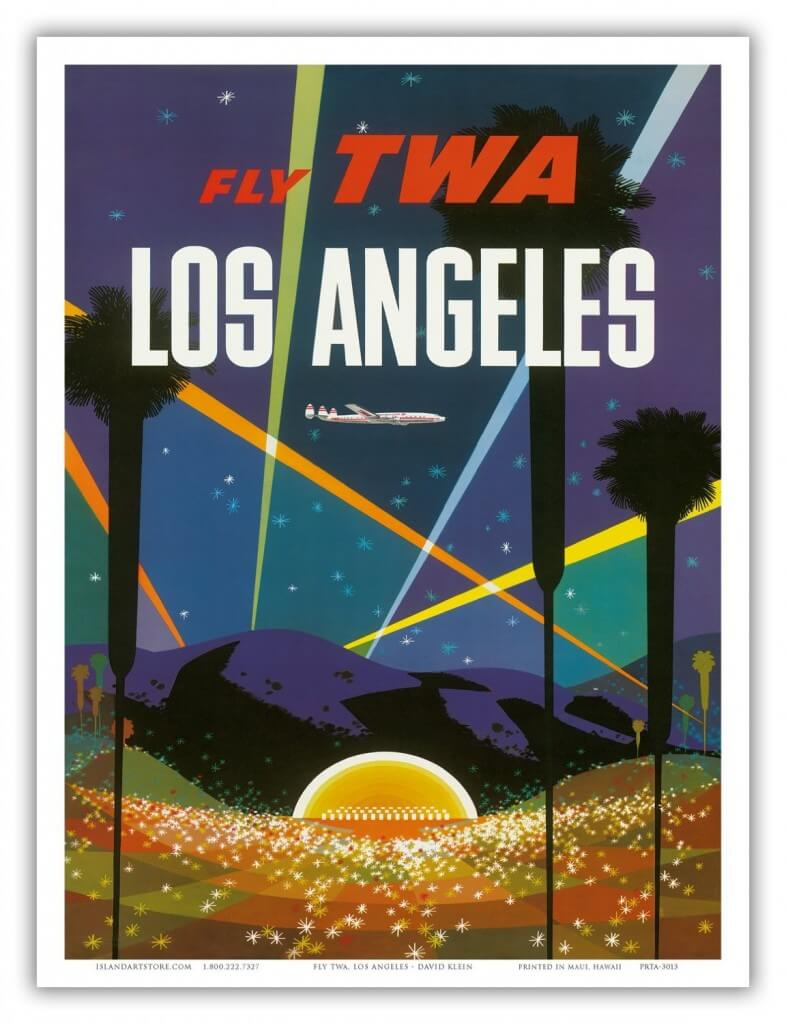 Aliexpresscom Buy Los Angeles TWA Airlines Travel Landscape