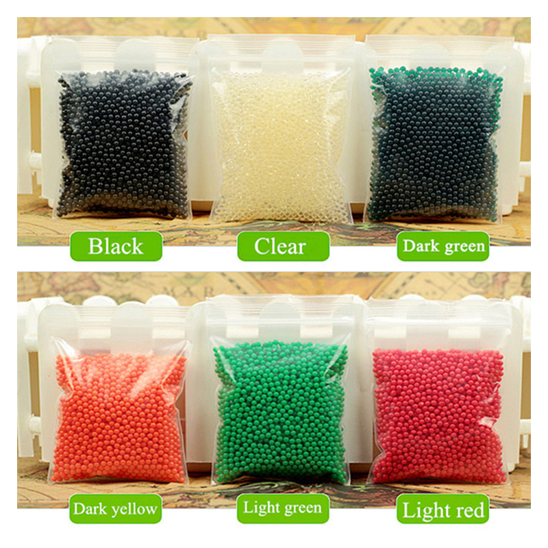 800 Particles /lot Crystal Soil Water Beads Mud Grow Magic Jelly Balls Wedding Home Decor Hydrogel Water Beads Pearl Shaped