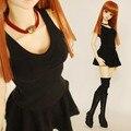 Fashion Drape Rompers Skirt +T-shirt  Set for BJD Doll Girl 1/4 MSD,1/3 SD10/13, SD16 LUTS.AS.DZ. Doll Clothes CWB54