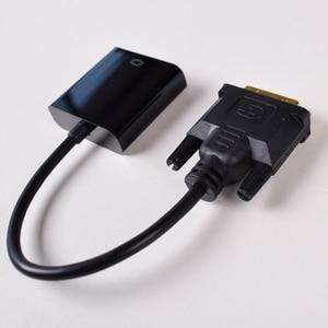 Image 5 - DVI do konwerter VGA, 1080P DVI D, aby kabel VGA, 24 + 1 25 Pin DVI męski na 15 Pin VGA adapter żeński