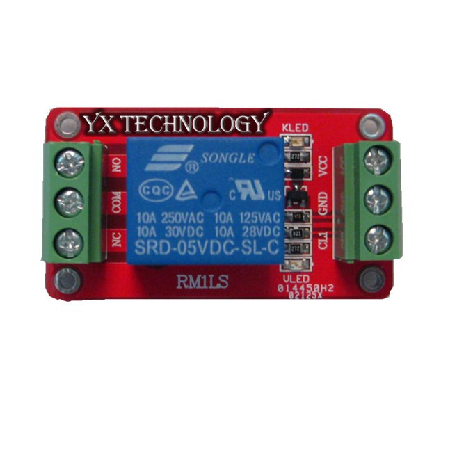 1-channel relay module/extension module/bi-directional terminal double PCB/5V,12V,24V/optional