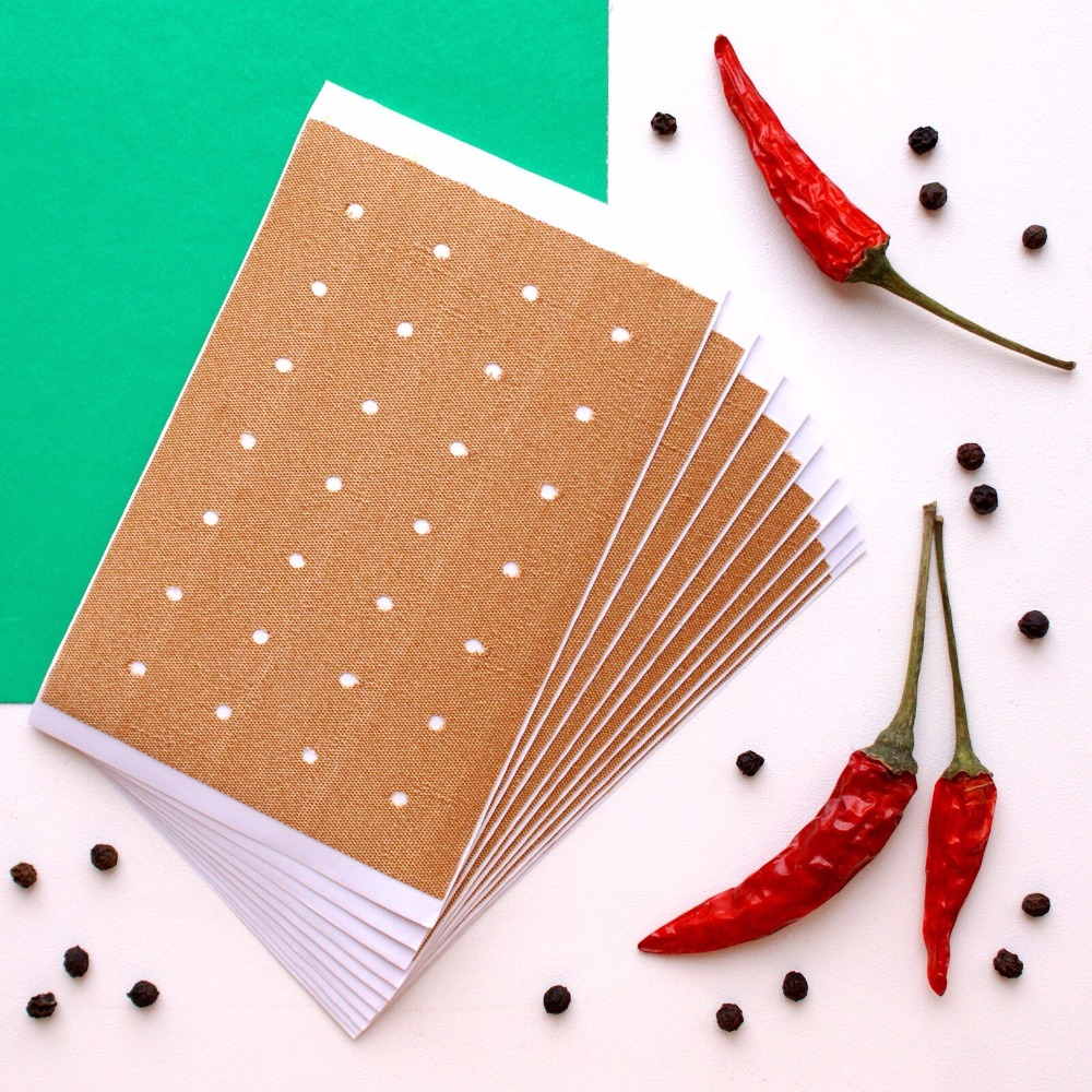 KONGDY Hot Capsicum Plaster Health Care 10 Pieces/Bag Chinese Medical Hot Plaster for Joints Pain Relieving Porous Chilli Patch