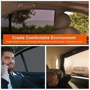 Image 4 - 2 упак. Солнцезащитный козырек от солнца для автомобиля, защита от ультрафиолета, занавес для окна автомобиля, солнцезащитный козырек, летняя Защитная пленка для окна