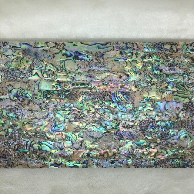 Atacado AA Qualidade Verde Natural Paua Abalone Shell Instrumento Musical Artesanato Jóias Inlay Material De Papel para Móveis