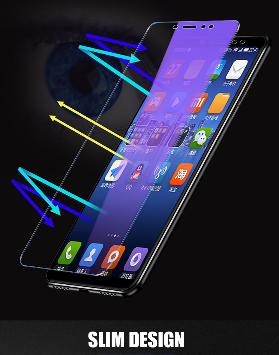 3Pcs Full Cover Tempered Glass For Xiaomi Redmi Note 7 6 5 Pro 5A 6 Screen Protector For Redmi 5 Plus 6A Protective Glass Film 9