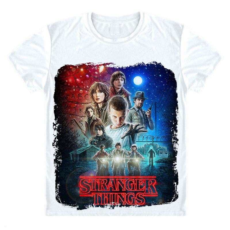 stranger things t shirt montauk summer t shirt homme t shirt men hip hop starnger things t shirt. Black Bedroom Furniture Sets. Home Design Ideas