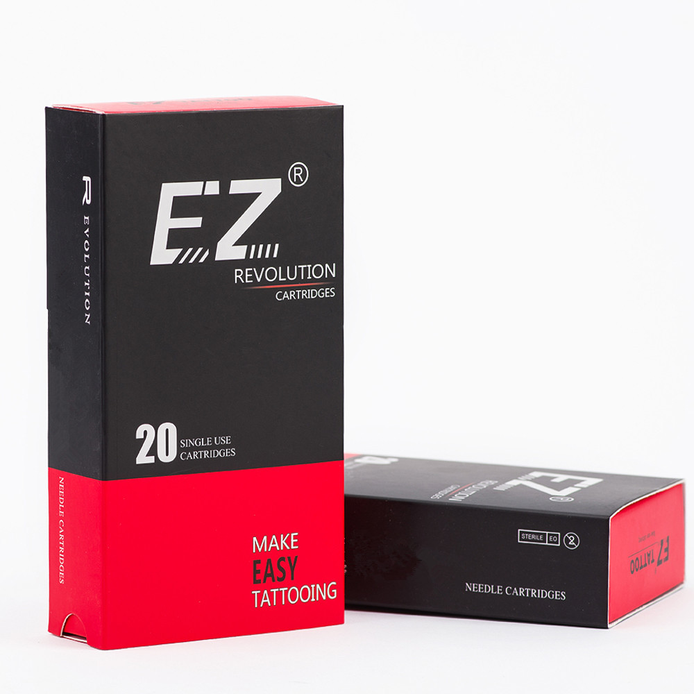EZ Revolution Cartridge Tattoo Needles Microingmentation Magnum Soft Edge Needles for Permanent Makeup Eyebrows Eyeliner Lips in Tattoo Needles from Beauty Health