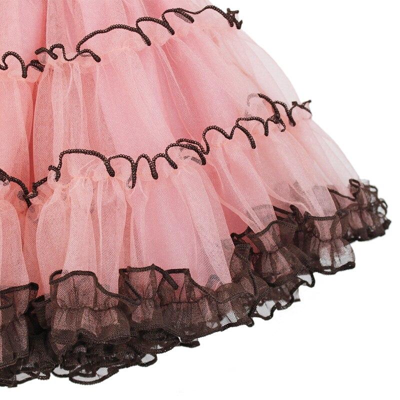 2017-Fashion-domeiland-Summer-clothing-Children-baby-kids-birthday-party-Tutu-cotton-girls-Skirts-Chiffon-Bow-lace-layer-Skirt-2