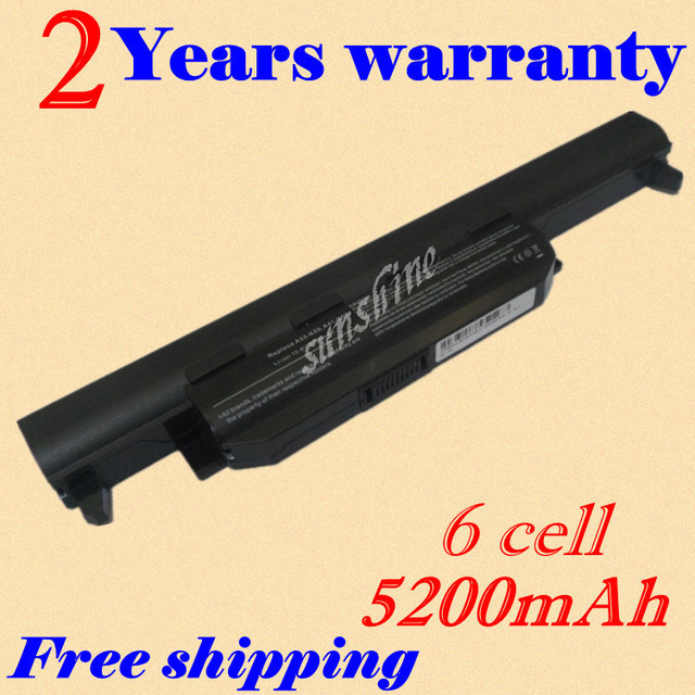 JIGU [Special Price]New 6 cells Laptop battery For asus A45 A55 A75 K45 K55 K75 R400 R500 R700 U57 X45 X55 X75,A32-K55 A41-K55