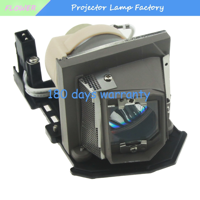 High Quality 330-6183 / 725-10196 / 0965F9 Replacement Projector Bare Lamp For DELL 1410X With Housing