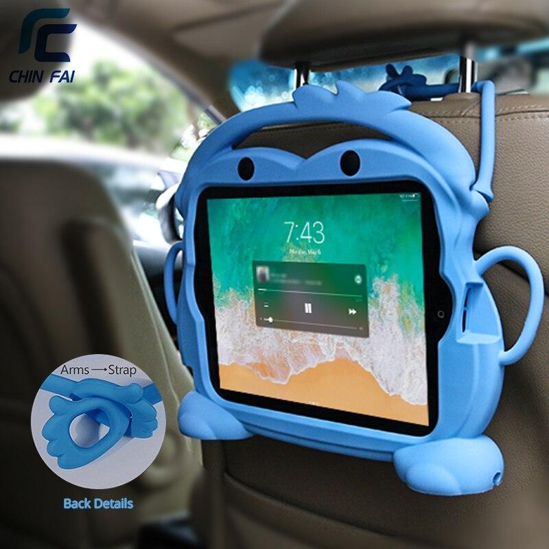 Chinfai chico para llevar de silicona caso para el iPad 2/3/4 9,7 a prueba de golpes a prueba lavable funda para iPad 4 caso tableta soporte para iPad 2