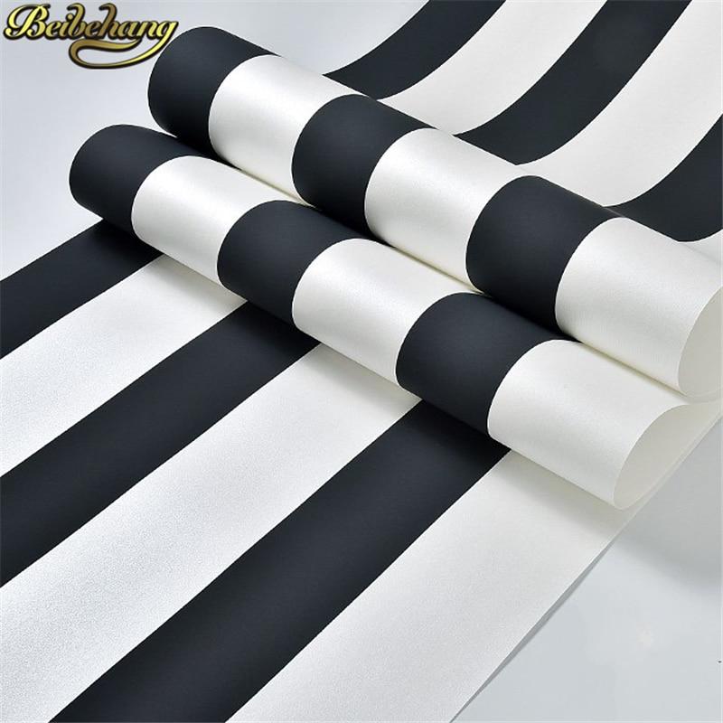beibehang papel de parede adesivo Modern Minimalist wall paper home decor Striped Wallpaper living room decoration contact paper massin verbes de contact 2ed