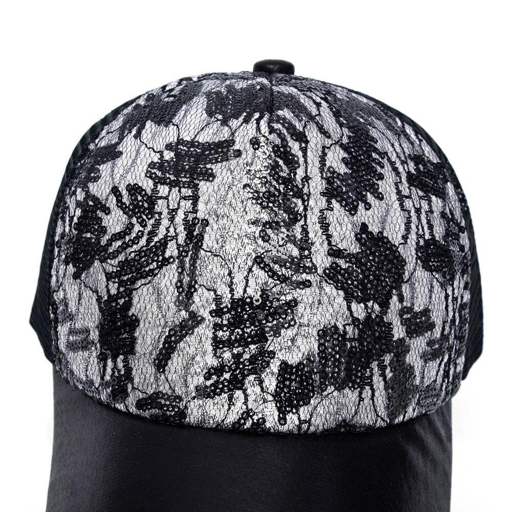 TQMSMY gorra de béisbol de empalme de lentejuelas de verano para - Accesorios para la ropa - foto 4