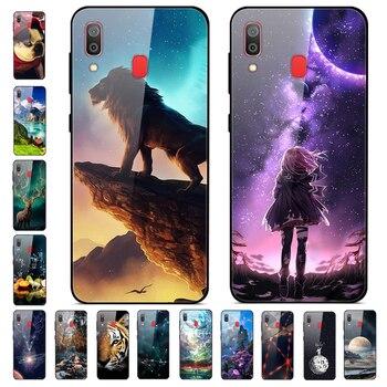 Перейти на Алиэкспресс и купить Чехол из закаленного стекла для samsung Galaxy Jean 2, твердый чехол-накладка для samsung Galaxy Wide 4 Wide4, мягкий бампер, 2019