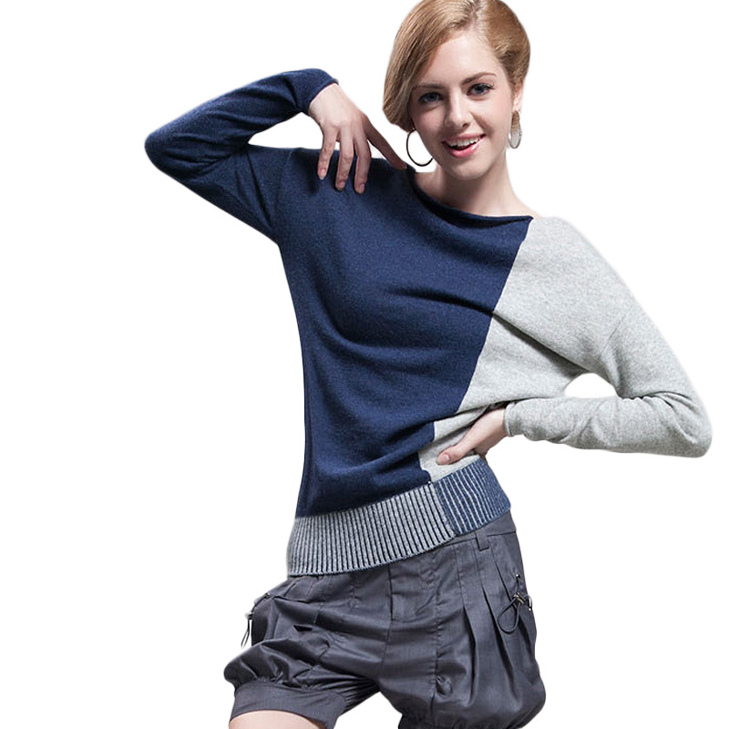 Women Sweater 2018 Autumn Loose Knit Sweater Fashion Pullover Elegant Ladies Cashmere Batwing Sleeve Women Tops Sweater