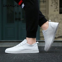 Casual Summer Shoes Men 2018 Red Black White Shoes For Men zapatillas hombre casual Shoes Without Lace tenis masculino adulto
