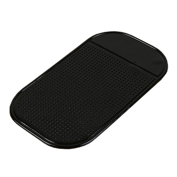 Black Car Dashboard Sticky Pad Mat Anti Non Slip Gadget Mobile Phone GPS Holder Interior Items Accessories Mount