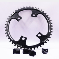 FOURIERS PCD 110 MM road Bicycle Chainwheel Crankset Bike Chainwheel For FC R8000 11 speed Crankset 42T/46T