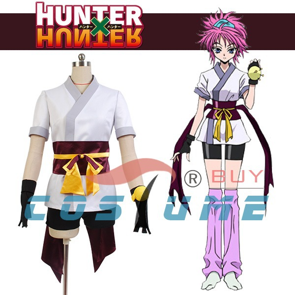 Hunter x Hunter The Phantom Troupe Machi Girls Anime Halloween Cosplay Costumes For Women Coat Outfit New Arrivals