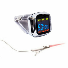 Wrist watch Physiotherapy 650nm laser light No trauma wrist Diode low level therapy LLLT CE