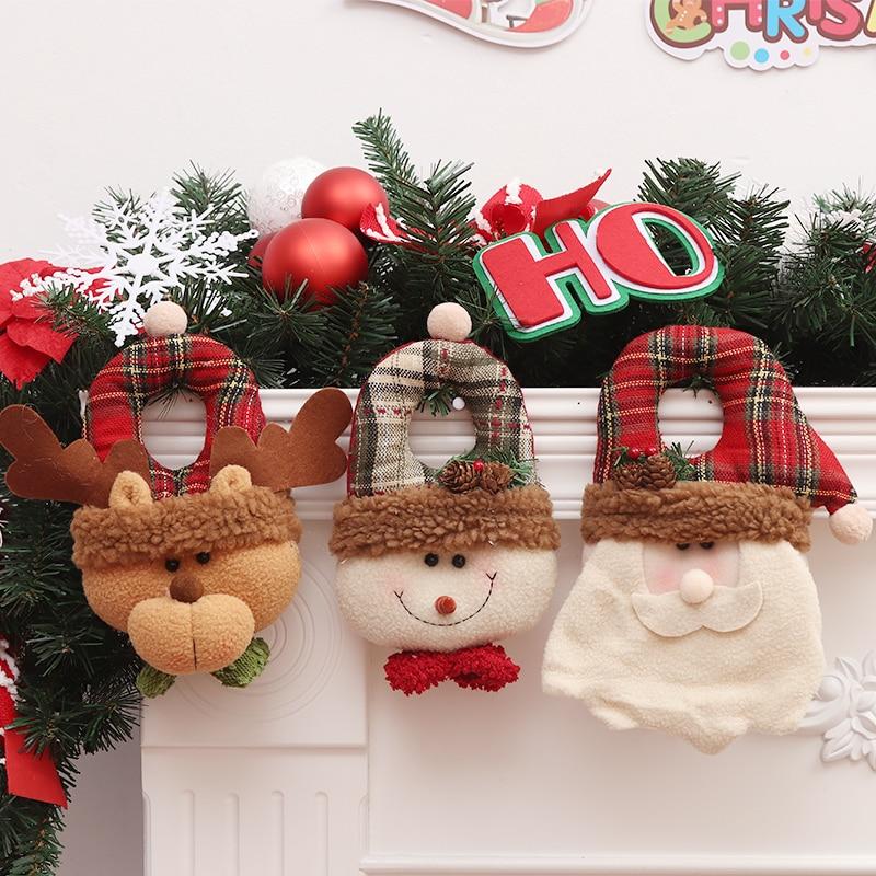 Cute Cartoon Christmas Decorations Dolls Christmas Tree ...