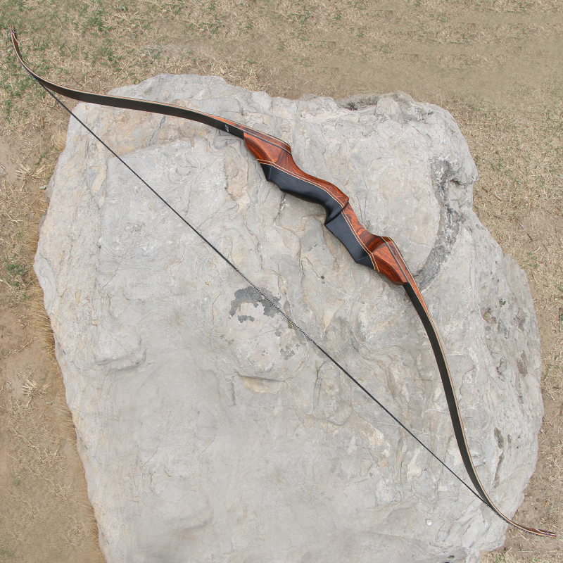 35 60lbs 58inch Archery Take Down Hunting Bow Wooden Shooting Recurve Bow Fiberglass Limbs for outdoor