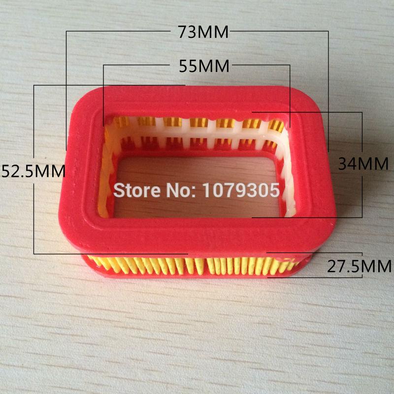 5200 5800 52 / 58CC Láncfűrész papír légszűrő - Kerti szerszámok - Fénykép 6