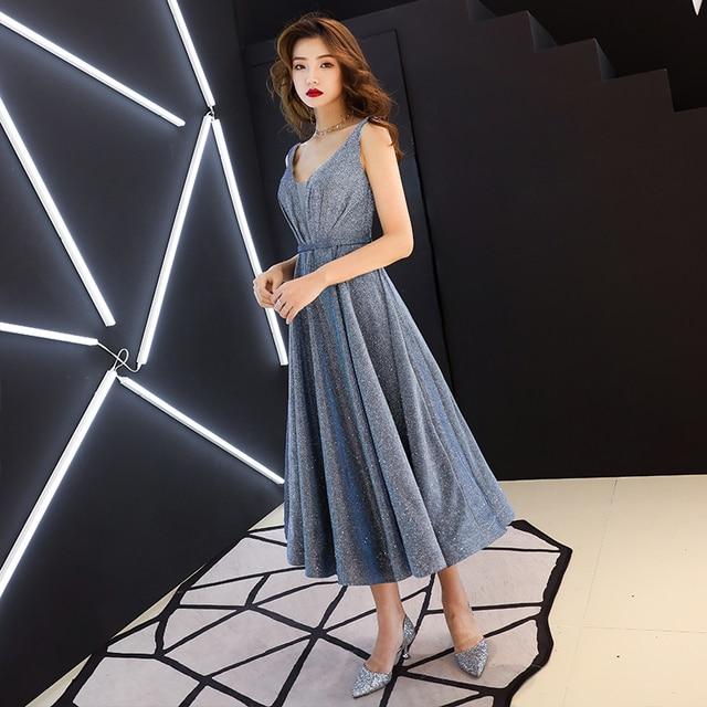 Fuchsia Bling Prom Dresses Dubai Long Off Shoulder Arabic Evening Party Gowns 2020 Elegant Gold Sequins Formal Dress 2
