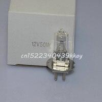 2pcs Replacement lamp for OSRAM 64609HLX 12V50W PG22 Ophthalmic slit lamp halogen bulb Microscope slit lamp