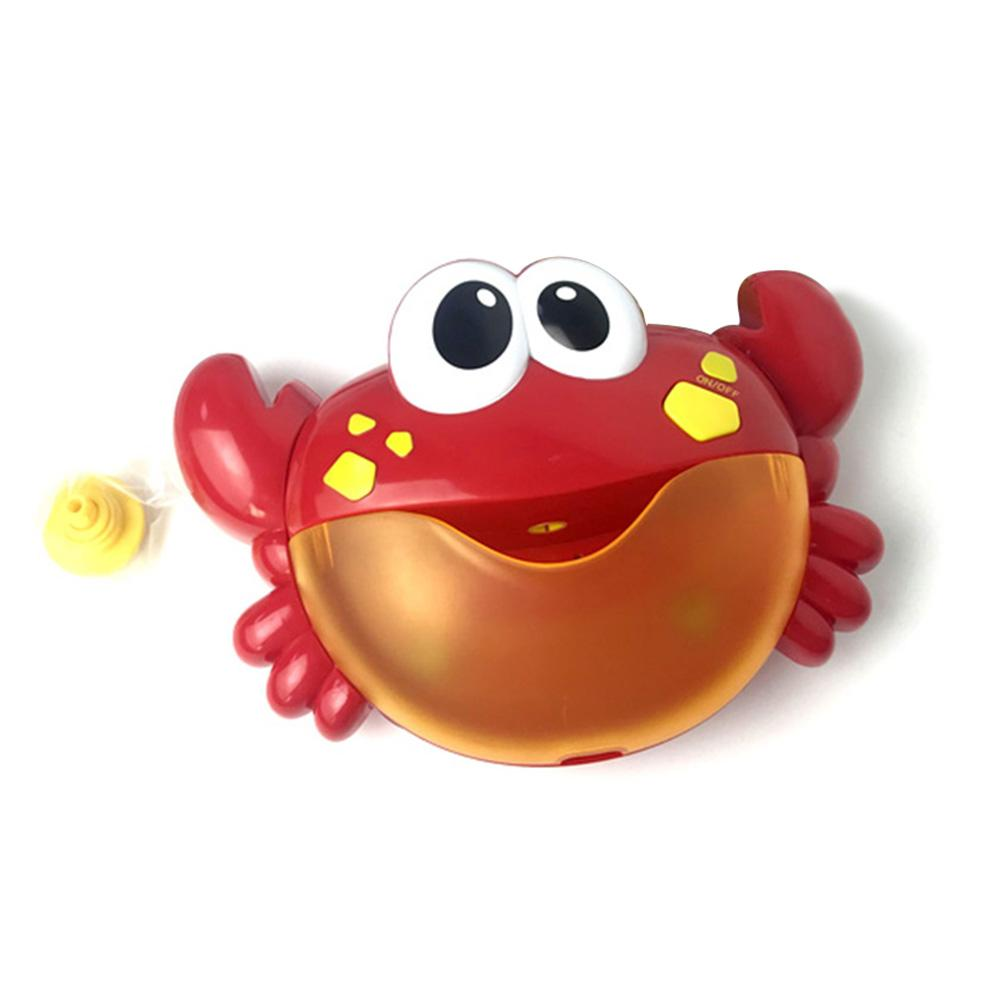 Children Automatic Bubble Toy Crab Shape Kids Bubble Machine Electric Toy Party Summer Toy for Kids
