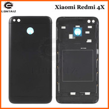 For Xiaomi Redmi 4X Back housing Cover Metal + Camera Glass+Side Keys Rear Housing Redmi 4X Battery Door Case Replacement Parts luanke 3d relief kickstand cover case for xiaomi redmi 4x