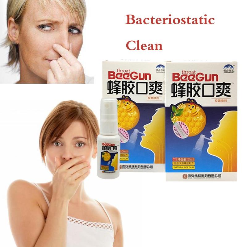 5 шт. натуральный травяной освежитель для рта спрей пчелиный прополис Антибактериальный спрей для полости рта язва рта лечение зубной боли