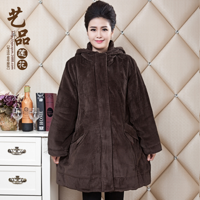 plus size 2016 middle-aged winter jacket women parka winter coat women manteau femme jaqueta feminina  jackets abrigos mujer