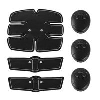 3 In 1 Smart Electric Pulse Abdominal Muscle Trainer Suit Wireless Muscle Stimulator Fitness Massage Health