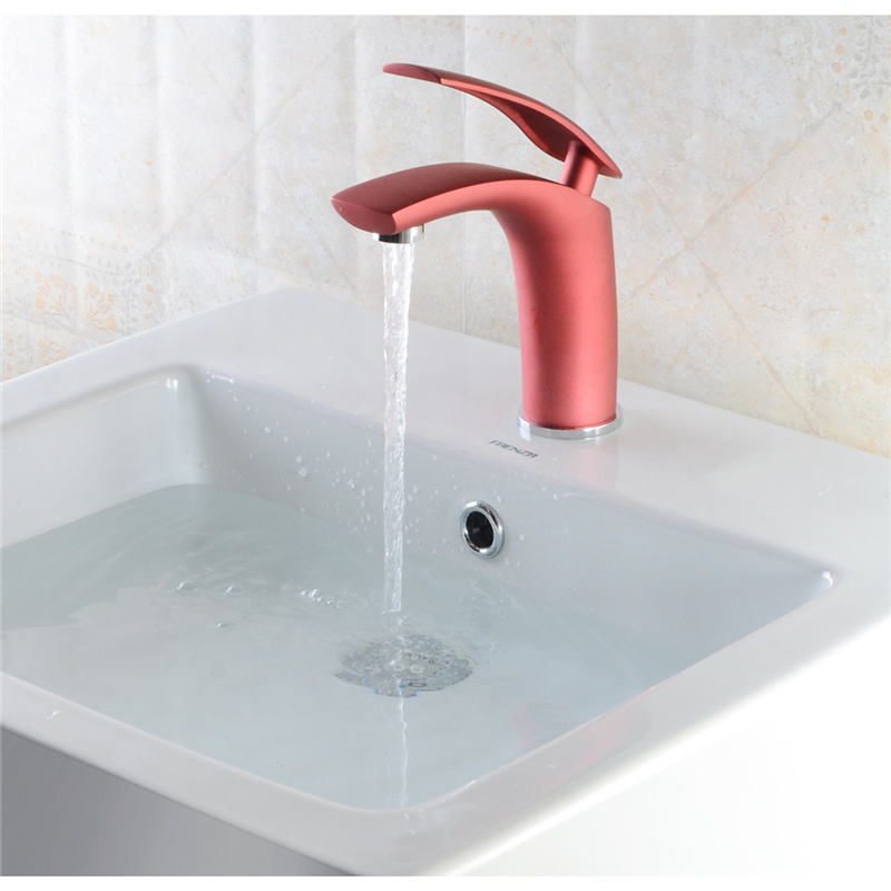 Xueqin Luxury Design Multi-color Brass Bathroom Basin Faucet Mixer Tap Single Handle Sink Taps Cold And Hot Water Deck Mounted camel shoes 2016 women outdoor running shoes new design sport shoes a61397620