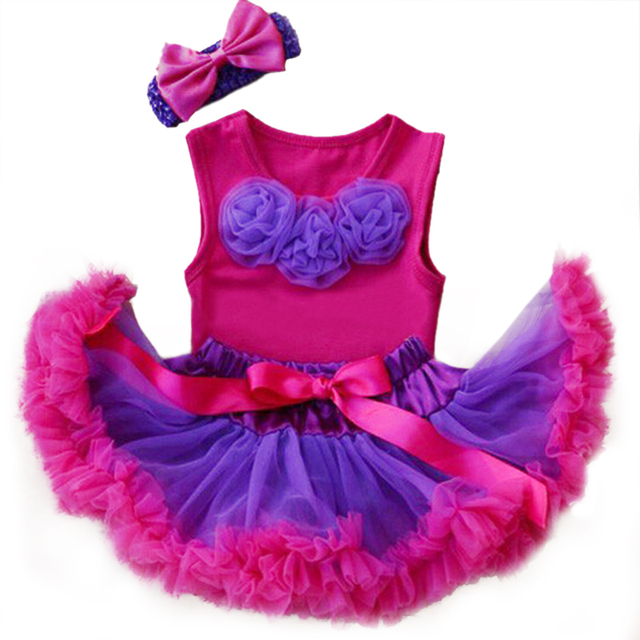 Fancy Top & Girls Clothing Set Baby Ruffle Tutu Skirt Children Clothes Conjuntos Infantis Menina Girls Sets Summer Dress 2164