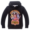 2016 Five Nights at Freddy's FNAF boys Hoodies Sweatshirts Kids Children's Clothing Baby boys Girls Hoodies & Sweatshirts Jacket