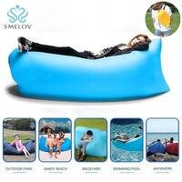 2017 Fashion Portable Inflatable Sofa Camping Travel Holiday Air Bag Sleeping Lazy Bag Lounger Bag Air