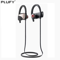 PLUFY Sports Bluetooth Headset CSR4 1 Wireless Ear Hanging Headphones Music Running Waterproof Swimming Earphones