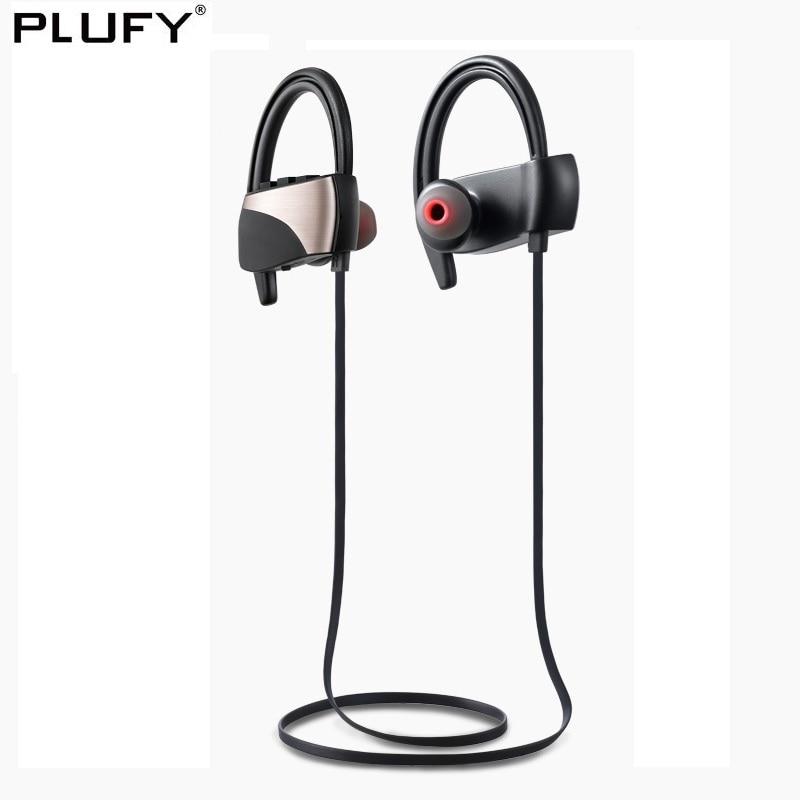 PLUFY Sport Auricolare Bluetooth Cuffie Auricolari Wireless di Musica Audifonos Corsa e Jogging Auricolare Impermeabile cuffie inalambrico