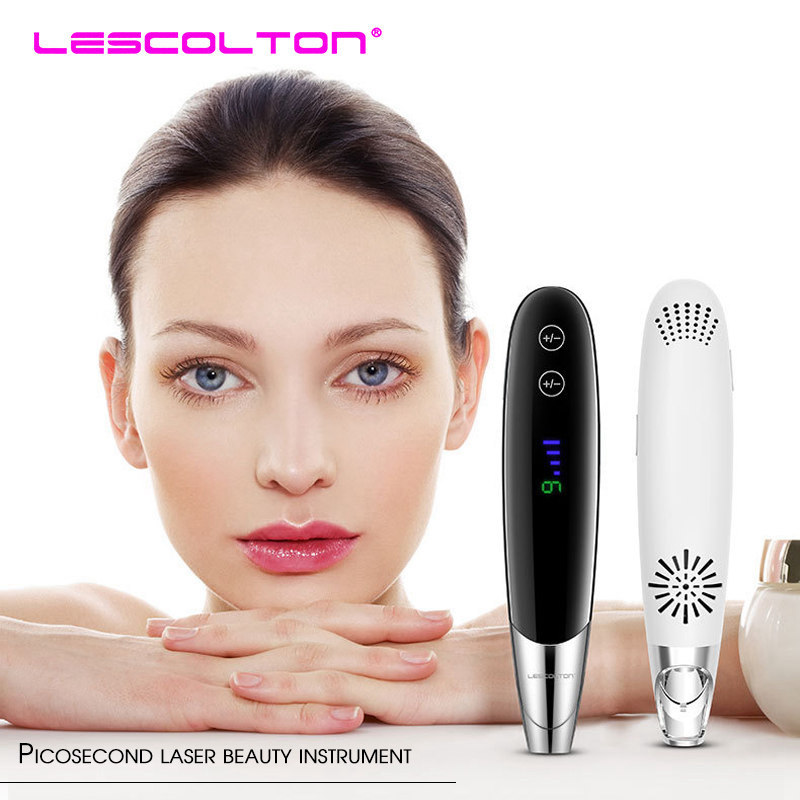 Blue Light Laser Picosecond Pen Freckle Tattoo Removal Mole Dark Spot Eyebrow Pigment Laser Acne Treatment Machine Beauty Care in Powered Facial Cleansing Devices from Home Appliances