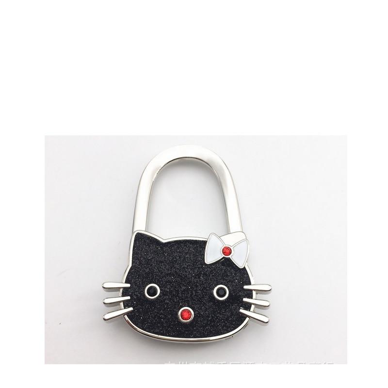 7b6d3c34375b NEW Cartoon hellokitty bag hook handbag hook foldable Handbag Purse Bag  Hanger Table Hook Hang Holder promotion gift 30pcs lot-in Bag Parts    Accessories ...