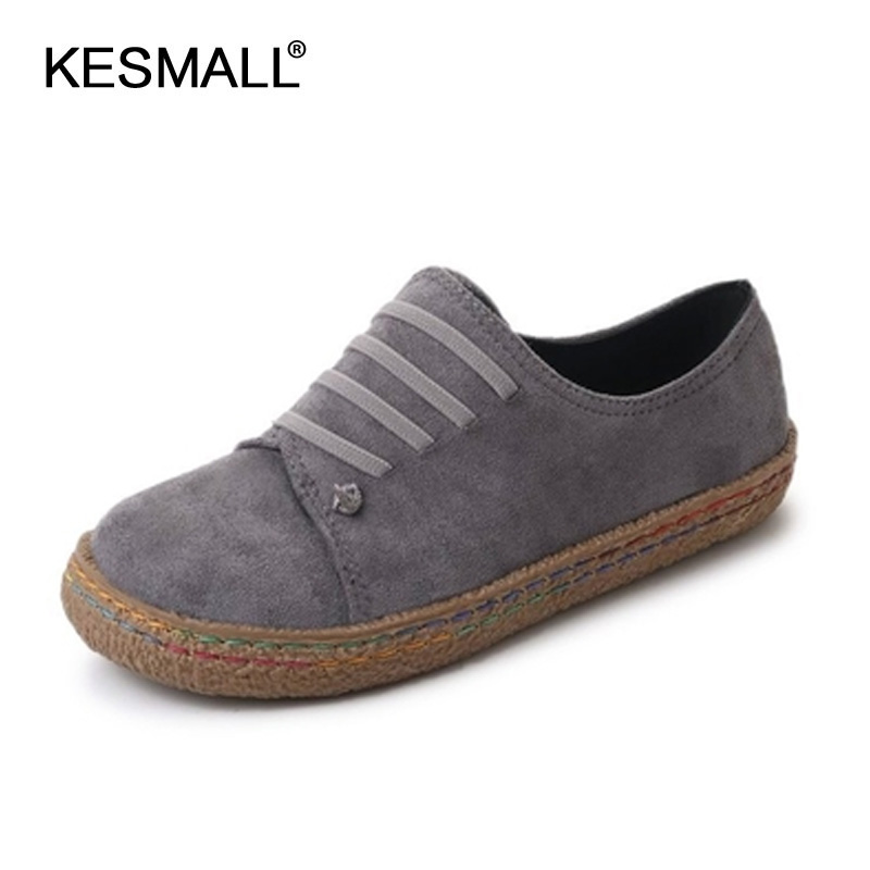 edition single female leisure shoes with flat word to