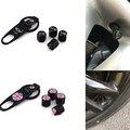 Llavero de La Válvula Del Neumático de Aire Tapas para Bmw mini cooper 2011 2012 2013 countryman r60 r50 r56 f56 f55 accesorios del coche styling