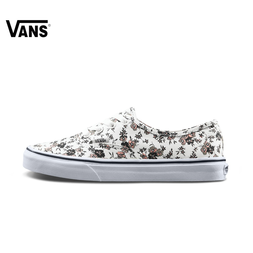 Original New Arrival Vans Low-Top Women's Skateboarding Shoes Sport Outdoor Sneakers Canvas Comfortable VN0A38EMOMA